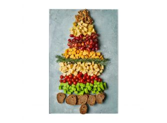 Gourmet Christmas Cheese Platter - Large