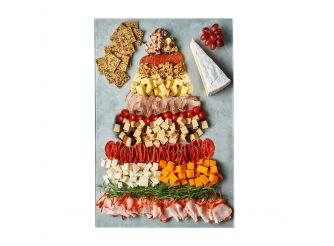 Gourmet Christmas Cheese & Cold Cuts Platter Assortment 2 - Large