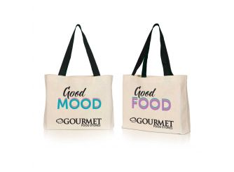 Gourmet Canvas Bag - Be Good