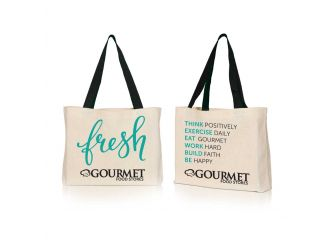 Gourmet Canvas Bag - Fresh
