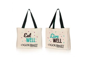 Gourmet Canvas Bag - Eat Well