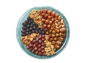 Gourmet Ramadan Dates and Nuts Plate