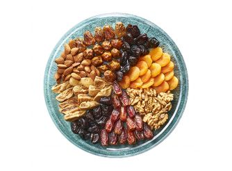 Gourmet Ramadan Dates, Nuts & Dried Fruits Plate