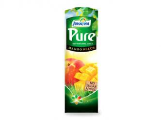 Juhayna Pure Mango & Peach Juice No Added Sugar