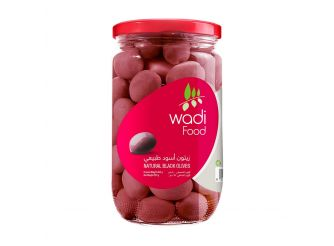 Wadi Food Natural Black Olives