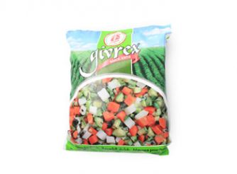 Givrex Frozen Mixed Vegetables for soup