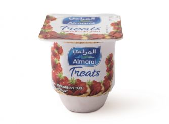 Almarai Treats Strawberry Tart Yoghurt