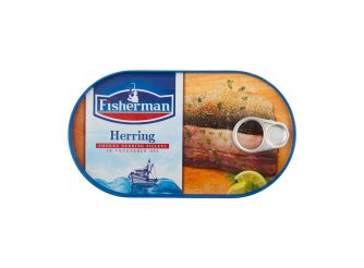 Fisherman Smoked Herring in Vegetable Oil