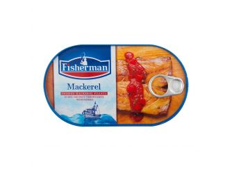 Fisherman Smoked Mackerel Fillet with Hot Tomato Sauce