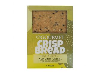 Gourmet Almond Crispbread (Contains No Gluten)