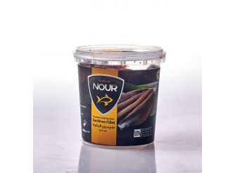 Nour Smoked Sardines Fillet in Oil
