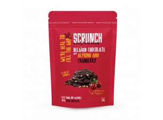 Scrunch Belgian Chocolate with Almond & Cranberry