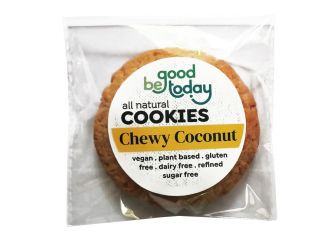 Be Good Today Vegan, Gluten & Dairy Free Chewy Coconut Plant Based Cookies