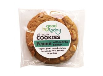 Be Good Today Vegan, Gluten & Dairy Free Peanut Maple Plant Based Cookies