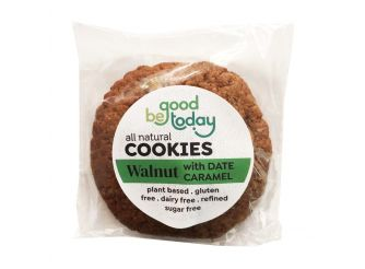 Be Good Today Gluten & Dairy Free Walnut Date Caramel Plant Based Cookies