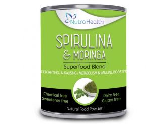 Nutra Health Spirulina & Moringa Superfood Blend