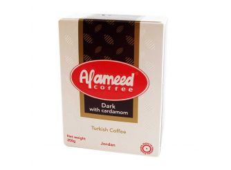 Alameed Dark Coffee without Cardamom
