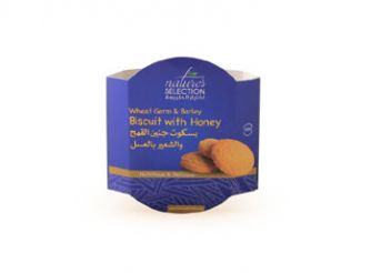 Nature's Selection Wheat Germ & Barely Biscuit with Honey