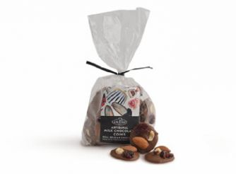 Gourmet Belgian Milk Chocolate Buttons with Dried Fruits & Nuts
