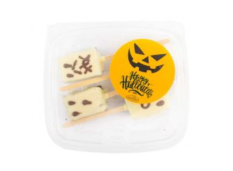 Gourmet Halloween Brownies on a Stick