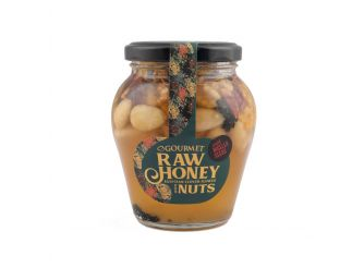 Gourmet Natural Raw Honey with Nuts & Nigella Seeds