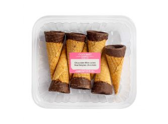Gourmet Cones With Chocolate