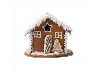 Snow Gingerbread House