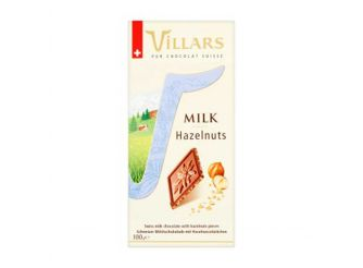 Villars Milk Hazelnut Chocolate
