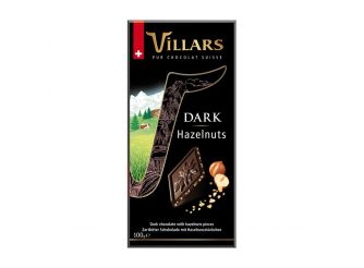 Villars Dark Hazelnut Chocolate
