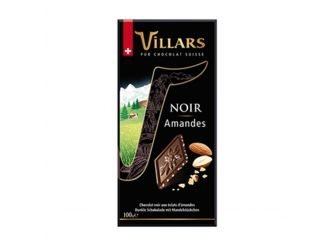 Villars Dark Almond Chocolate