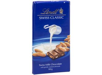 Lindt Swiss Classic Almond Milk Chocolate
