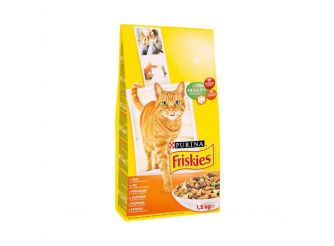Purina Friskies Adult Cat Food with Chicken & Vegetables