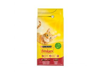 Purina Friskies with Meat, Chicken & Vegetables Dry Cat Food