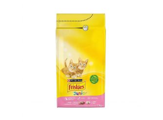 Purina Friskies Dry Food for Junior Cats with Chicken & Milk