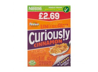 Nestle Curiously Cinnamon Cereal
