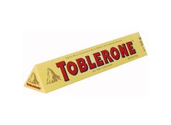 Toblerone Milk Chocolate with Honey & Almond Nougat