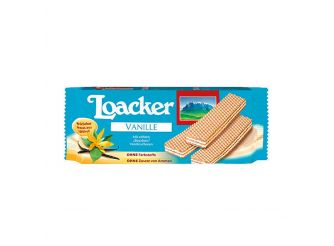 Loacker Crispy Vanilla Wafer
