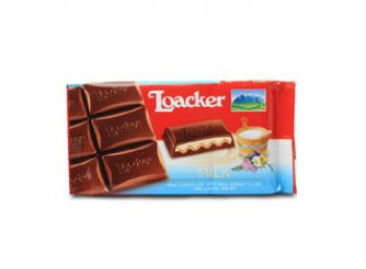 Loacker Milk Chocolate Bar