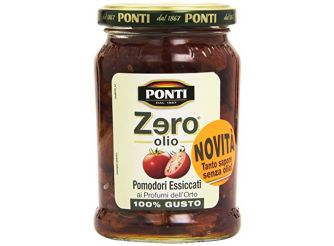 Ponti Zero Oil Sundried Tomatoes
