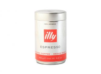 Illy Ground Espresso Medium Roast Coffee