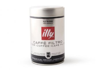 Illy Ground Drip Dark Roast Coffee