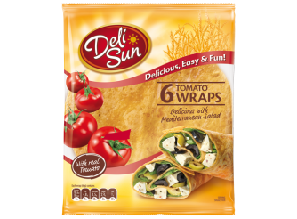 Deli Sun Tortilla With Real Tomato