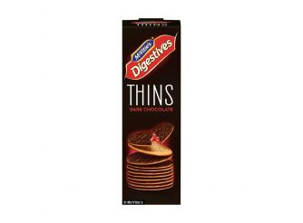 McVitie's Digestives Thins Dark Chocolate