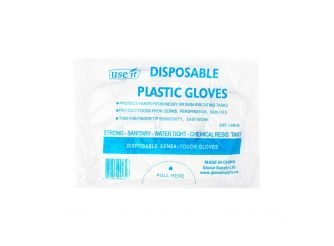 UseIt Disposable Plastic Gloves