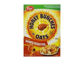Honey Bunches Of Oats Cereal, Honey Roasted