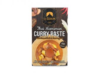 deSIAM Massaman Curry Paste