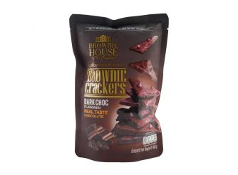 Brownie House Dark Chocolate Brownie Crackers