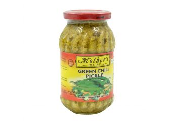 Mother's Recipe Pickled Green Chilli