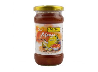Mother's Hot MangoChutney,340g