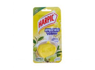 Harpic Toilet Block with Lemon & Tea Tree Scent